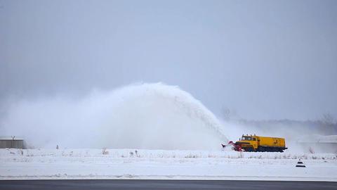 Snow machine Stock Video Footage