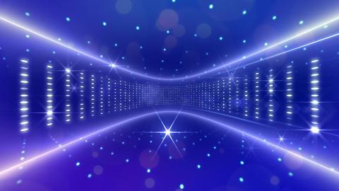 Disco Space 3DBb Stock Video Footage