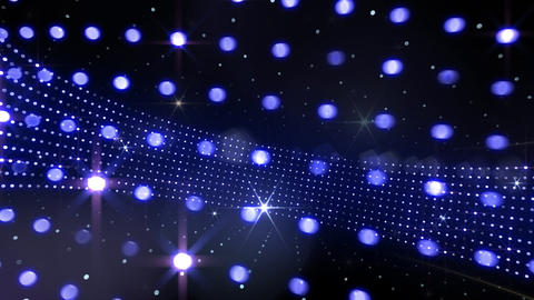 Disco Space 3DCb Stock Video Footage