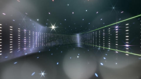 Disco Space 3RBb Stock Video Footage
