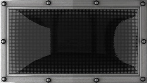 stop announcement on the LED display Stock Video Footage