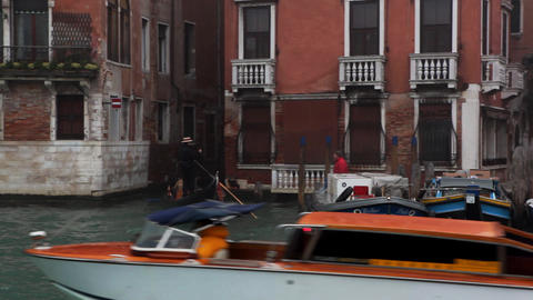 river streets Stock Video Footage
