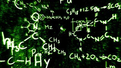 3D Chemistry v01 02 Stock Video Footage
