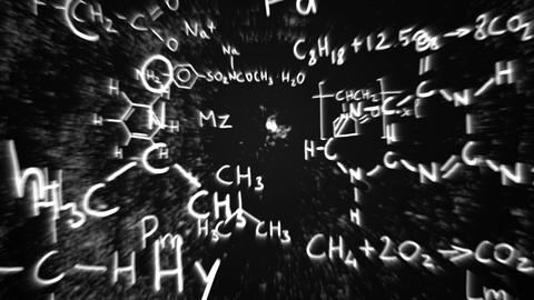 3D Chemistry v01 06 Stock Video Footage