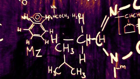 3D Chemistry v02 04 Stock Video Footage