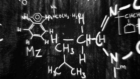 3D Chemistry v02 06 Stock Video Footage