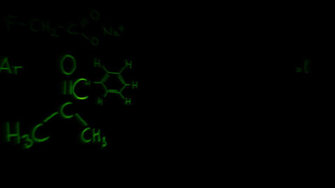 3D Chemistry v03 02 Stock Video Footage