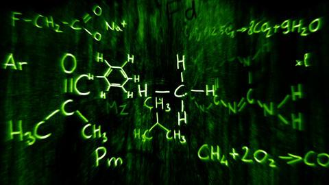 3D Chemistry v03 02 Stock Video Footage