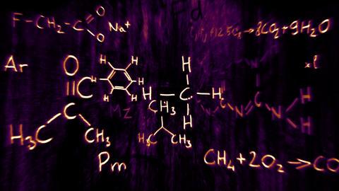 3D Chemistry v03 04 Stock Video Footage