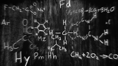 3D Chemistry v03 06 Stock Video Footage
