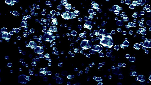 Beautiful Rain 15 rotating Animation