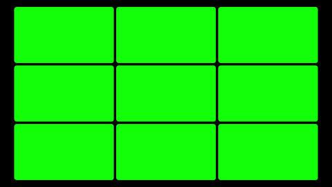 Green Screen Box 02 Stock Video Footage