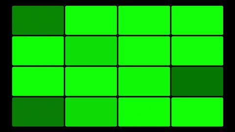 Green Screen Box 04 Stock Video Footage