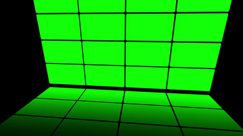 Green Screen Box 08 Stock Video Footage