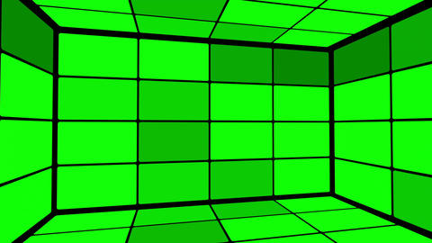Green Screen Box 10 Stock Video Footage