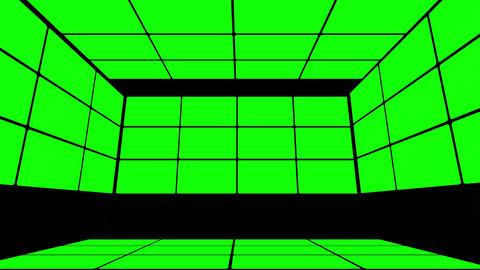 Green Screen Box 12 Stock Video Footage
