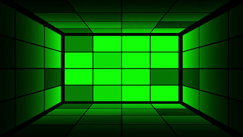 Green Screen Box 14 Stock Video Footage