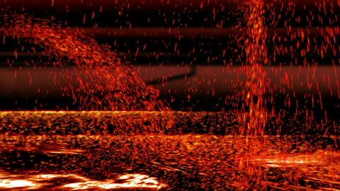 Melted Iron 02 Animation