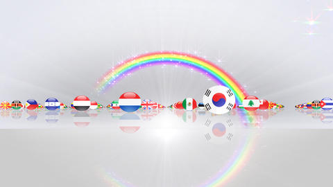 World Flags 3MFcw CG動画