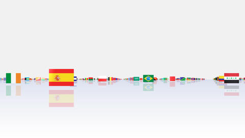 World Flags 3MFsw CG動画