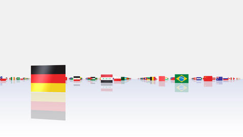 World Flags 3MNsw Animation