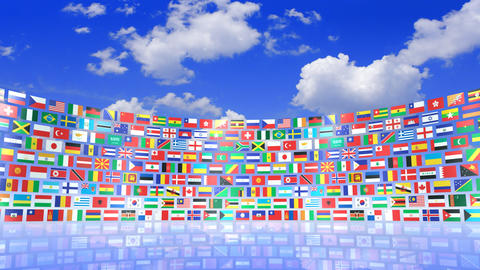 World Flags 3RSbs CG動画