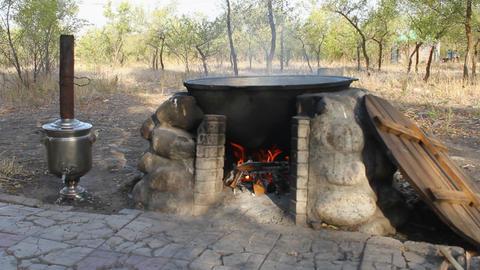 Cauldron-2 Stock Video Footage