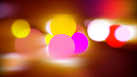 Defocused Particles. Loop Stock Video Footage