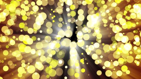 Glitter gold light. Loop Animation
