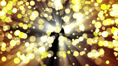 Glitter gold light. Loop Stock Video Footage