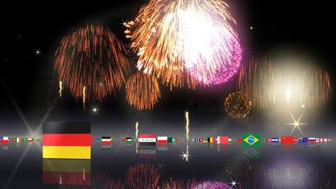 World Flags 3MNsh CG動画
