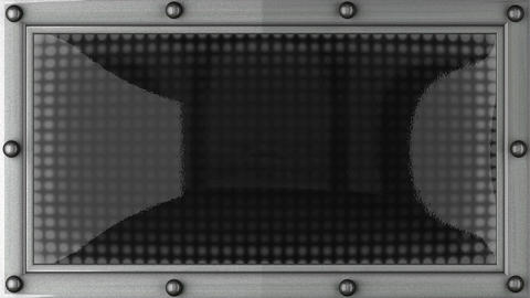 job announcement on the LED display Animation