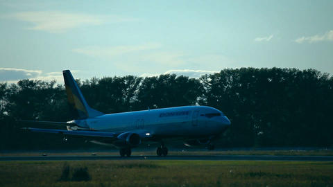 Boeing-737 Stock Video Footage