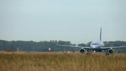 Airbus A-320 Stock Video Footage