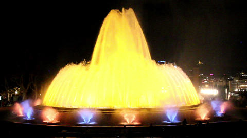 One big fountain and several small ones in Spain B Live Action