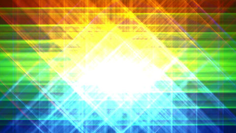 4K Prismatic grid star abstract background loop a1 Animation