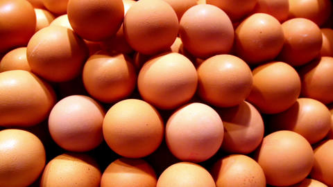 Brown eggs on your breakfast Footage