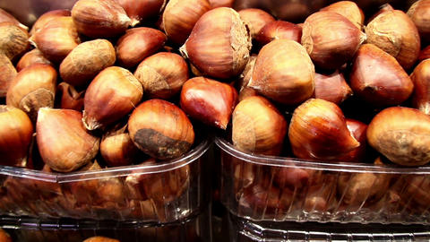 Eco Red Onions Bulbs For Your Seasoning stock footage