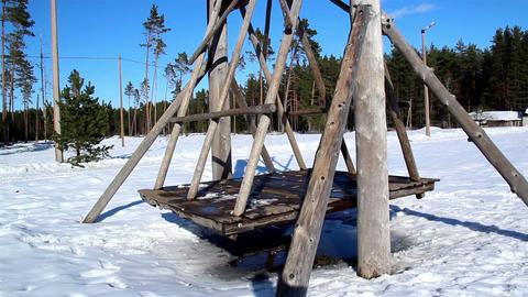 Lumbers created as big swing Footage