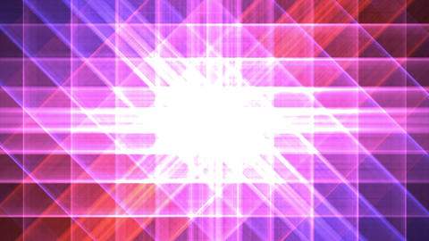 4K Prismatic grid star abstract background pink 3 Animation