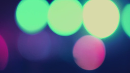 Concert Stage Lights Out Of Focus Bokeh stock footage