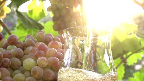 Grape Juice and Sun Footage