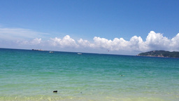 BEACH SEA stock footage