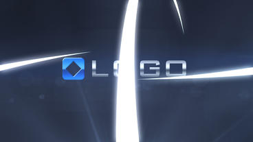 Glow 3D Light Streaks Business Logo Reveal Intro After Effects Template
