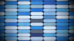 Blue Flickering Background stock footage