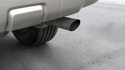 Car Exhaust stock footage