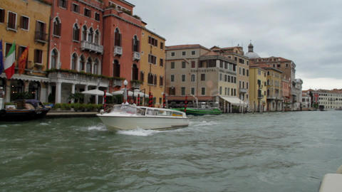 Water Street and Buildings in Venice Footage