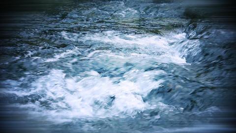 Wild River Rapids stock footage