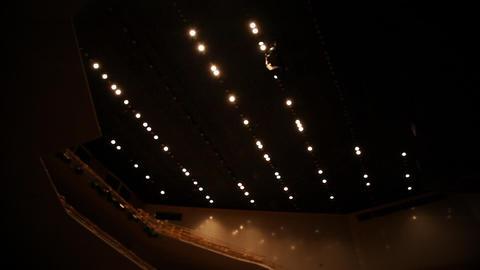Still shot of ambient lights turnig off Footage