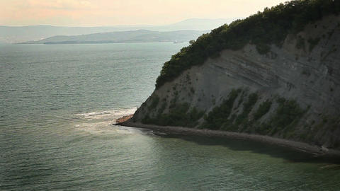 white cliff, near Dover Footage